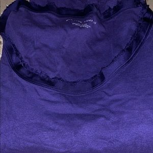 Purple long sleeve size small